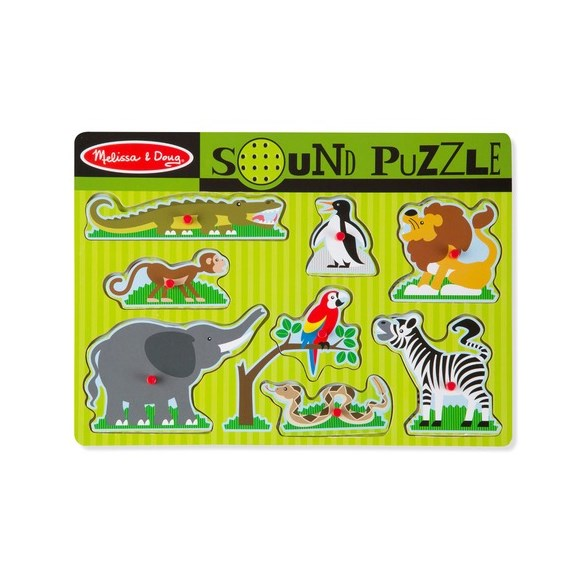 Ljudpussel 8 Bitar, Zoo