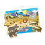 Knoppussel 7 Bitar, Safari