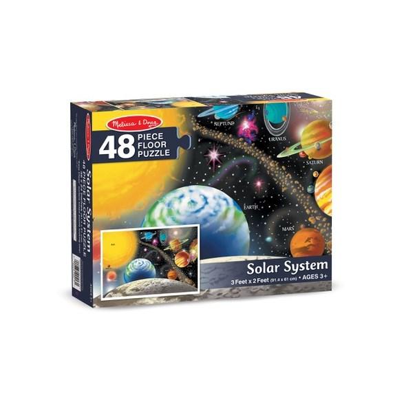 Golvpussel 48 Bitar, Solsystemet