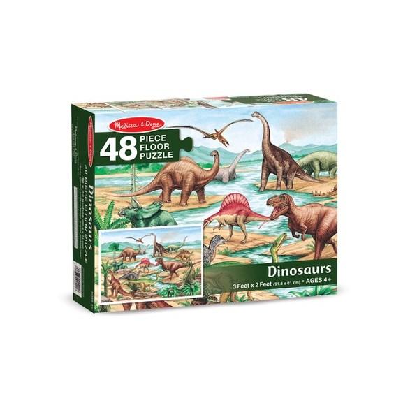 Golvpussel 48 Bitar, Dinosaurier