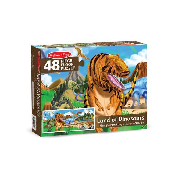 Golvpussel 48 Bitar, Dinosaurieland