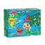 Golvpussel 33 Bitar, Världskarta