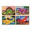 4 Pussel I Låda, Dinosaurier