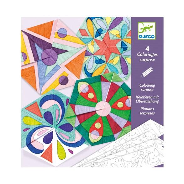 Färgläggning, Rosette Mandalas