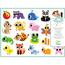 Klistermärken, Baby Animals