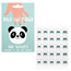 Miko The Panda Nail Stickers