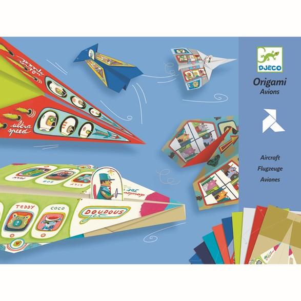 Origami, planes