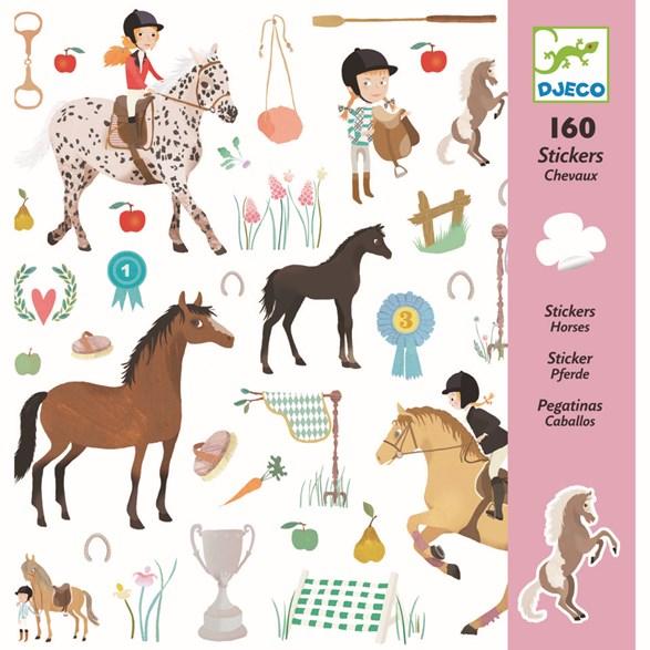 Klistermärken, Horses