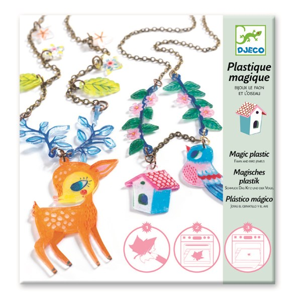 Pysselkit, Magic Plastic Fawn And Bird