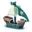 Pop To Play, Pirate Boat