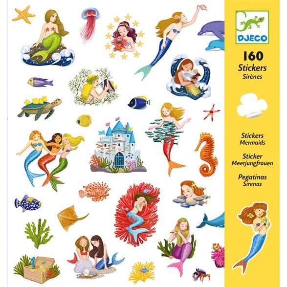 Klistermärken, Mermaid