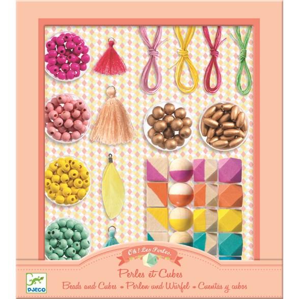 Pärlor, Beads and Cubes