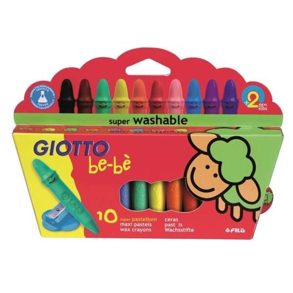 Be-Bé Maxi Crayons, 10-P