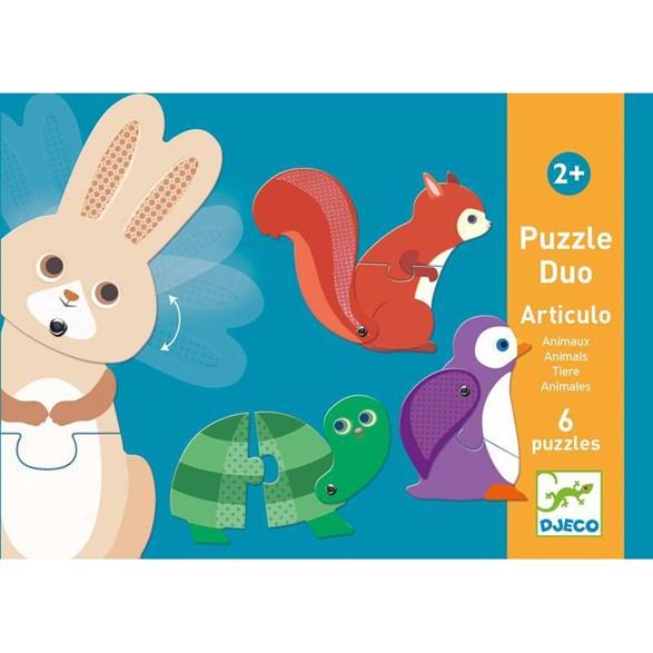 Pussel, Articulo Animals (6 st)