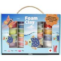Foam Clay Presentask, Mixade Färger