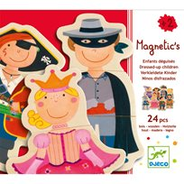 Magnetic Puzzle, Fancy Children