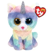 Beanie Boos Heather, cat with horn