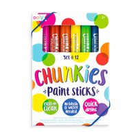 Chunkies Paint Sticks, 12-p