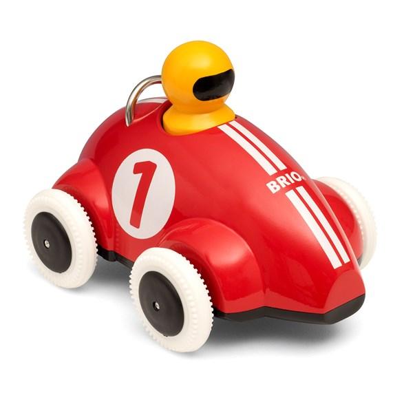 Push & Go racerbil, röd