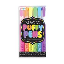 Magic Puffy Pens, 6-p