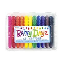 Rainy Days Gel Crayons, 12-p