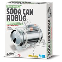 Green Science, Soda Can Robug