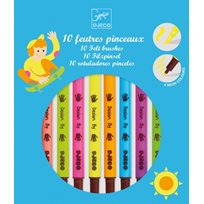 Filtpennor, Pop Colours, 10 st