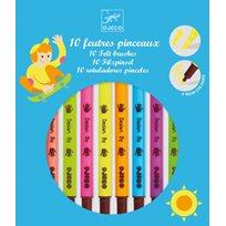 Filtpennor, Pop Colours, 10 st