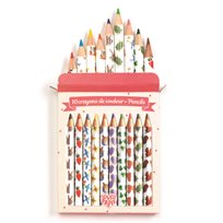 Mini Colored Pencils Alko, 10 st