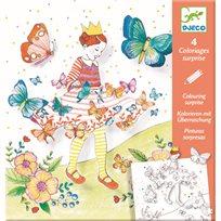 Färgläggning, Lady Butterfly