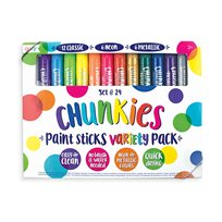 Chunkies Paint Sticks, 124P