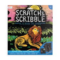 Scratch & Scribble, Colorful Safari