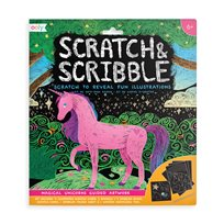 Scratch & Scribble, Magical Unicorns