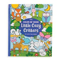Color-In Book, Little Cosy Critters
