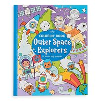 Color-In Book, Outer Space Explorers