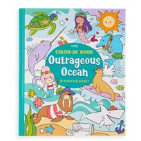 Color-In Book, Outrageous Ocean