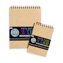 White Paper Sketch Book