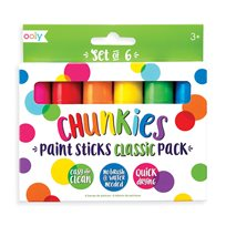 Chunkies Paint Sticks, 6-P