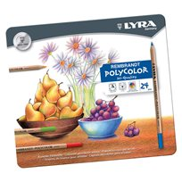 Lyra Polycolor Pencils, 24 Colors