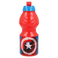 Vattenflaska 400 ml, Captain America