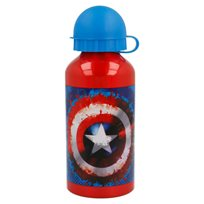 Vattenflaska Alu 400 ml, Captain America Icon
