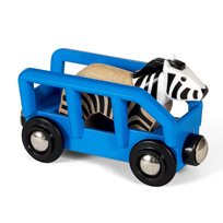 Djurtransport zebra