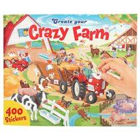 Create Your Crazy Farm Pysselbok