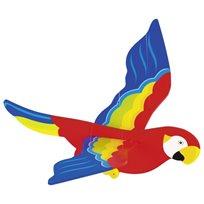 Mobil papegoja Siluett