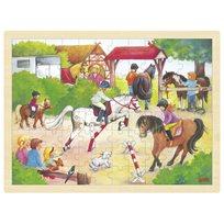 Rampussel 96 Pcs, Hästar