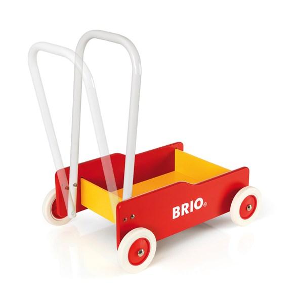 Lära gå vagn, röd