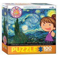 Pussel Starry Night, 100 Bitar