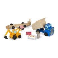 Dump Truck And Loader