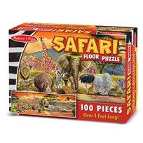 Golvpussel 100 Bitar, Safari
