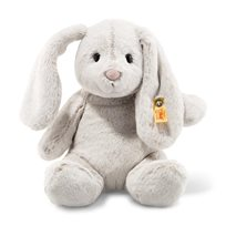 Soft Cuddly Friends Hoppie Rabbit, Light Grey